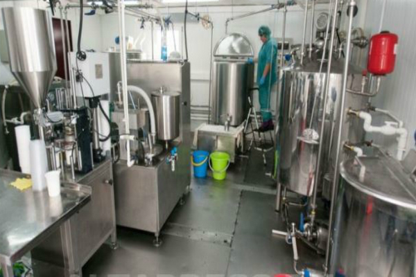 Молочный склад в Польше