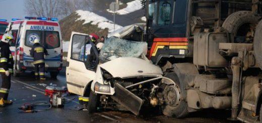 В Польше микроавтобус с украинцами попал в аварию