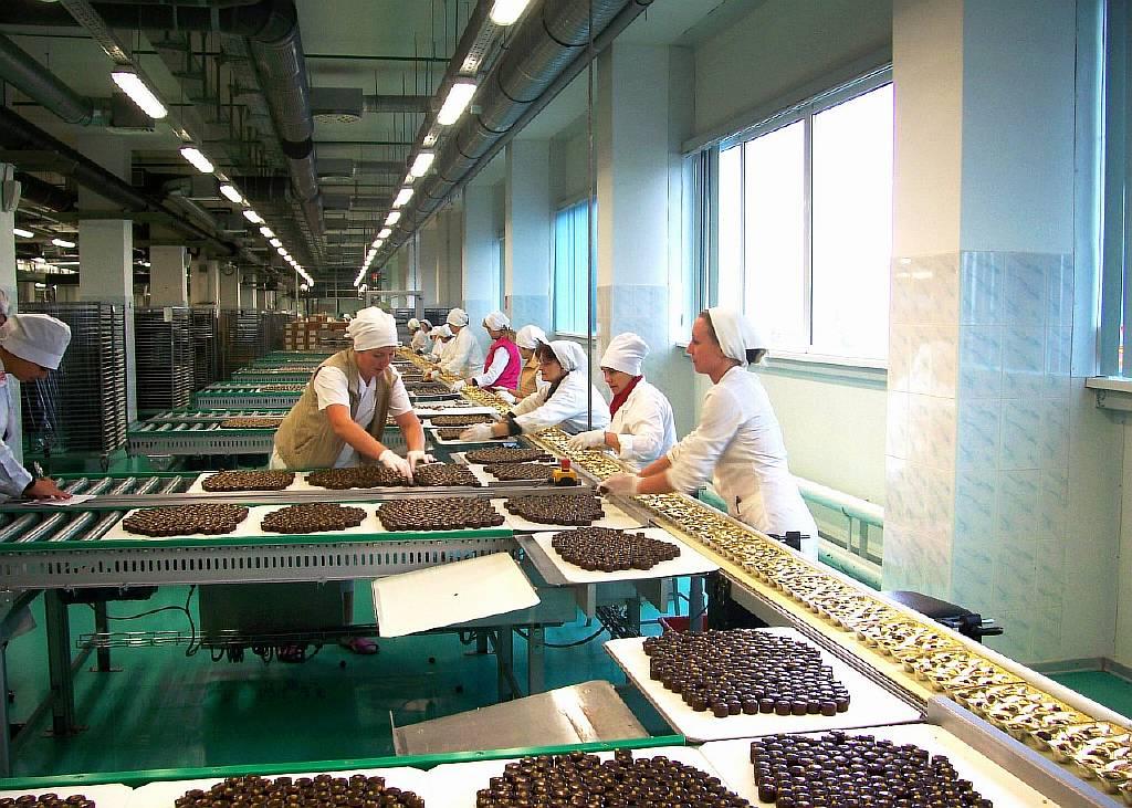 Работа в Польше на упаковке шоколада