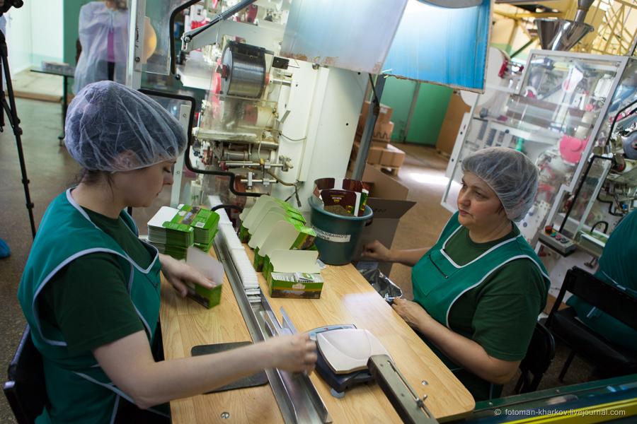 Работа в Польше на упаковке пакетиков чая