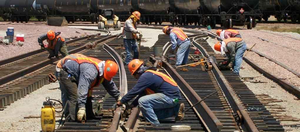 Работа в Польшеремонт железнодорожного покрытия