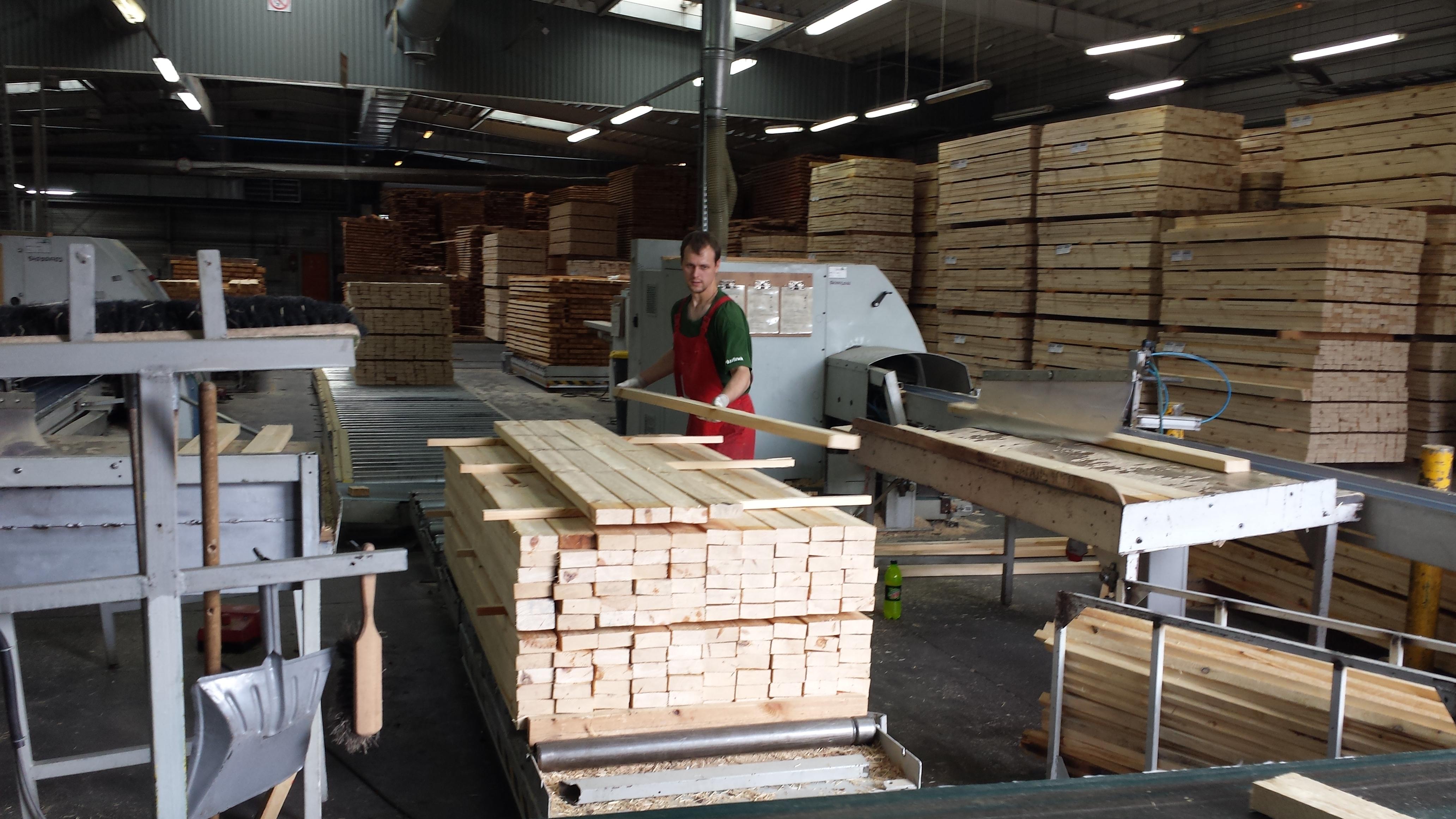 Работа в Польше надервообрабатывающий завод