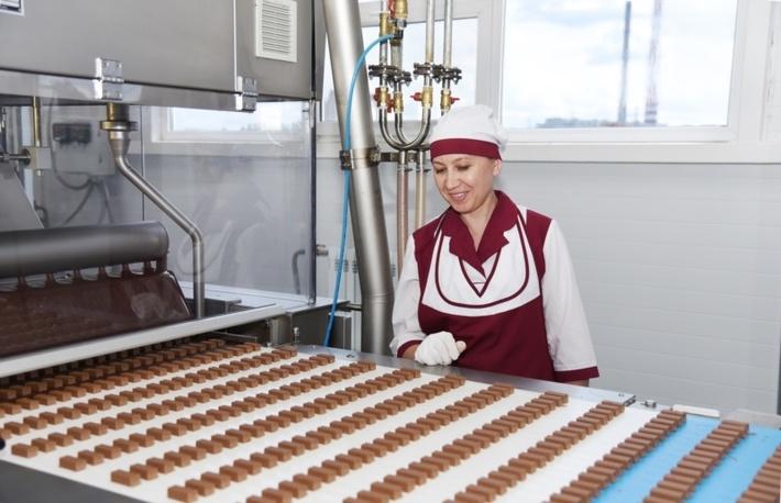 Работа в Польшена упаковщике конфет