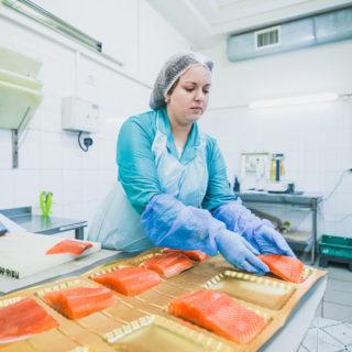 Работа в Польше на фасовке рыбы