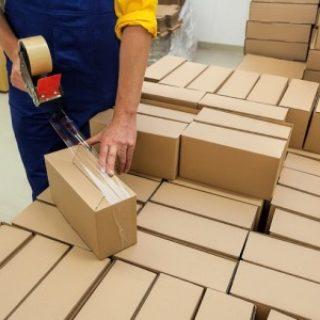Работав Польше на упаковке чистящих средств