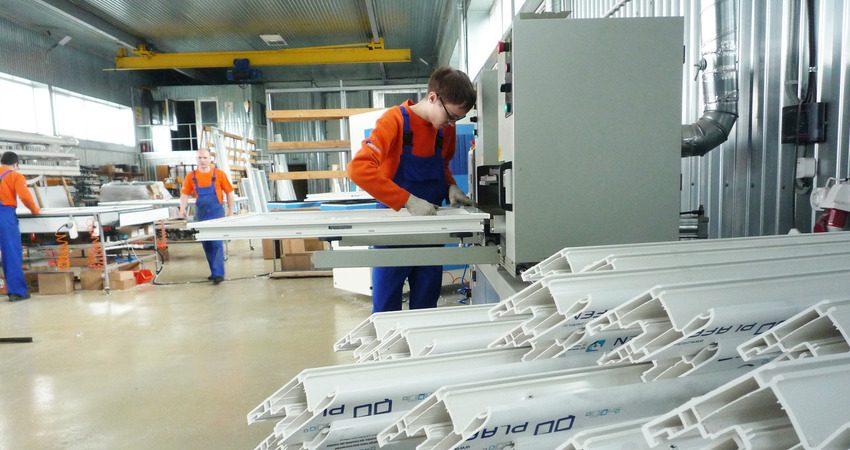 Работав Польше на производствеметаллопластиковых окон