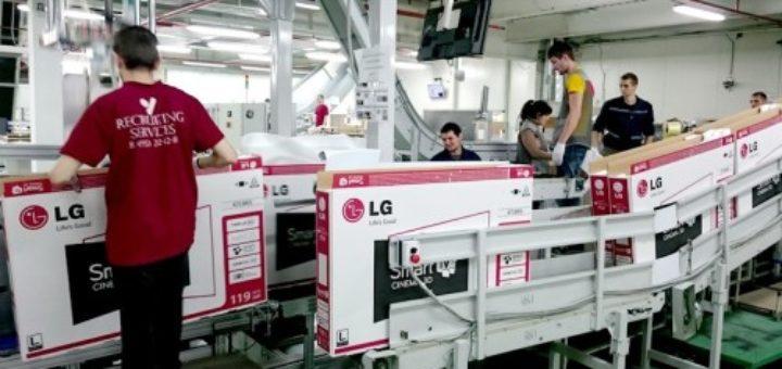 Работа в Работа в Польше на производстве LGПольше на производстве LG