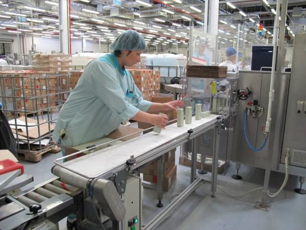 Работа в Чехии на упаковке косметики и одежды