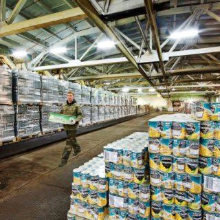 Работа в Литве на складе продуктов