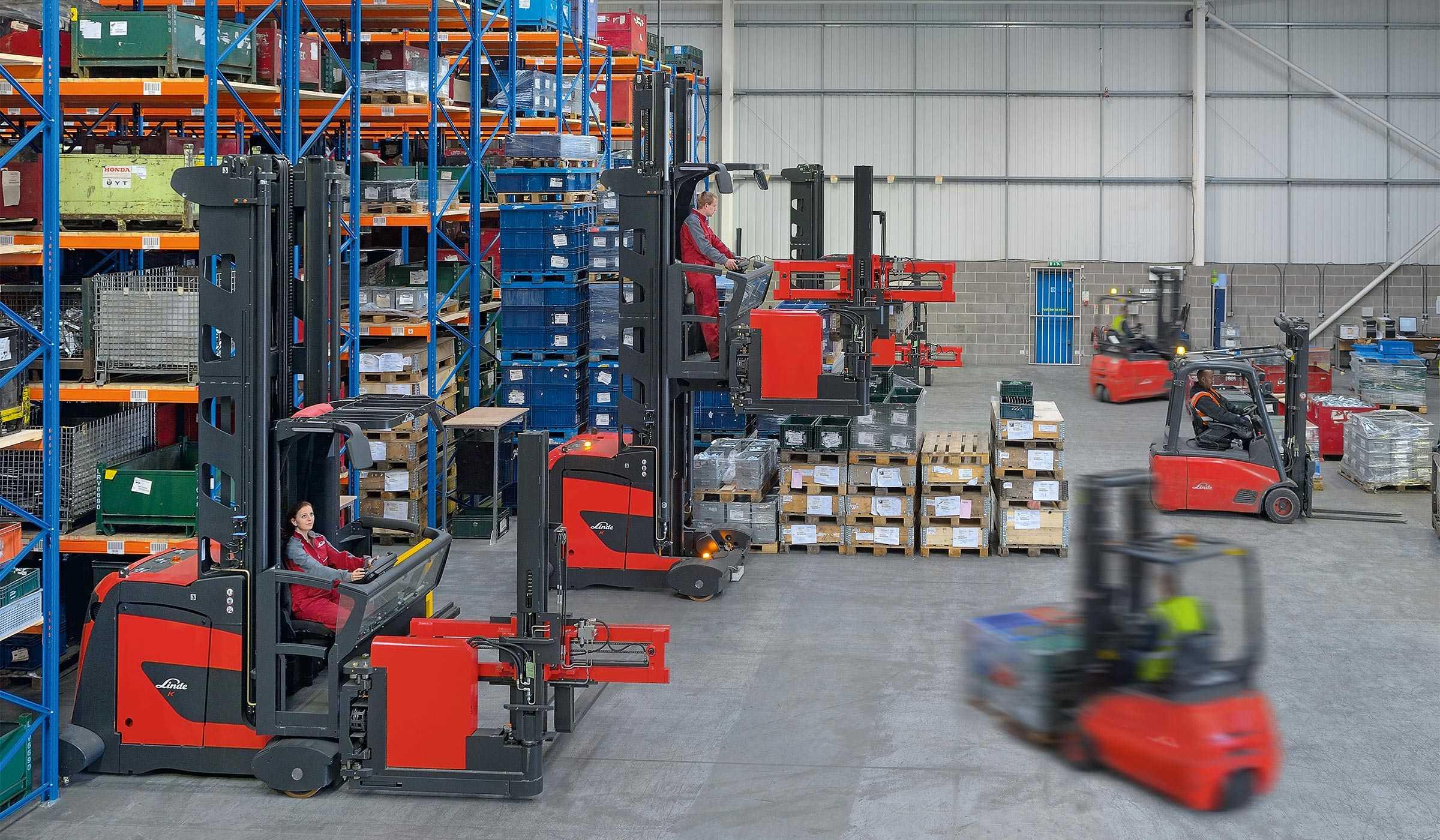 Работа в Польше на погрузчике высокого склада